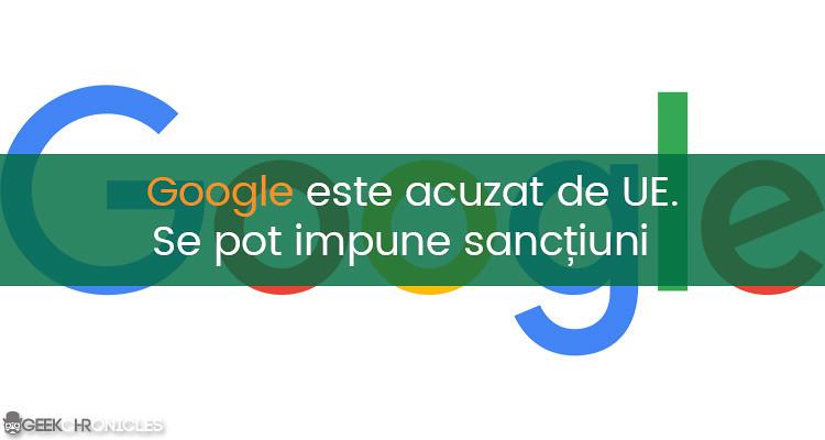 sanctionarea Google