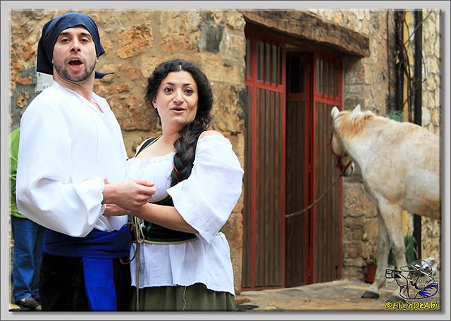 La Batalla por la Sal, visitas teatralizadas en Poza de la Sal (14)