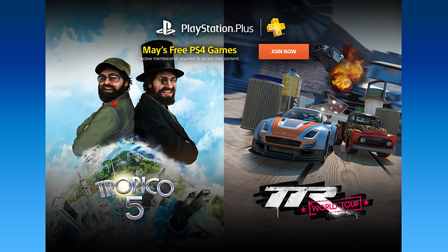 PlayStation Plus: May 2016