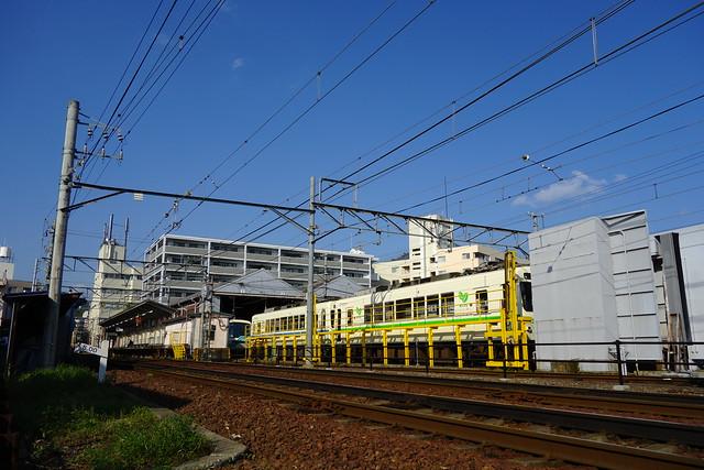 2016/04 叡山電車×NEW GAME! ラッピング車両 #91