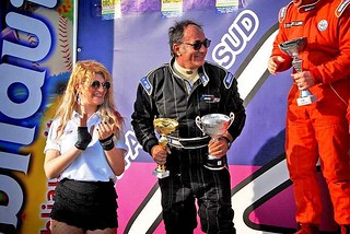 Pietro Nardone al Trofeo Autodromo del Levante front