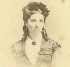 Jane Atkinson, nee Bastian. Wife of Thomas Atkinson