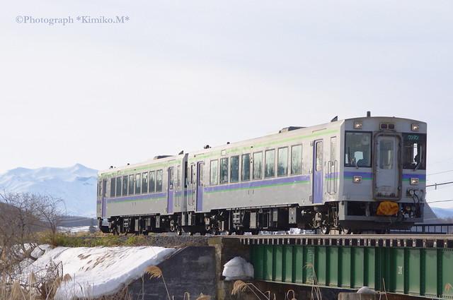 富良野線上り一番列車