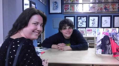 Sam Meets Gerard Way