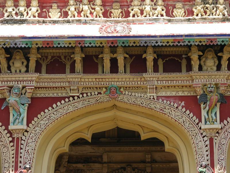 Detalle del Palacio de Thirumalai Nayak