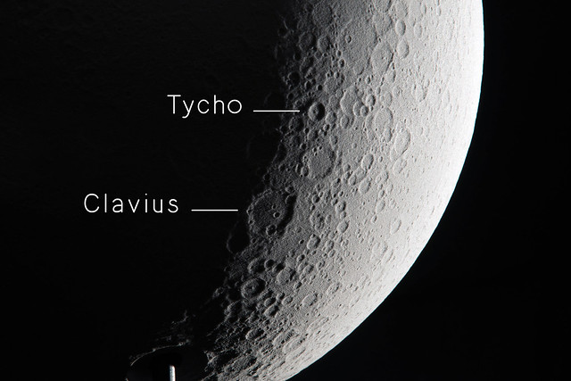 View of Tycho and Clavius Crater