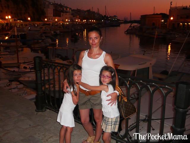 porto di Ciutadella - Minorca coi bambini