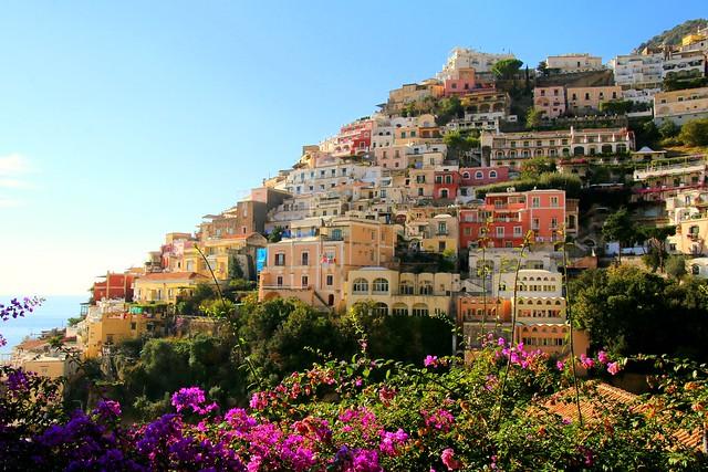 Positano (Unesco world  heritage) , on the Amalfi coast, Italy