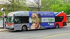 WMATA Metrobus 2012 New Flyer Xcelsior XDE40 #7216