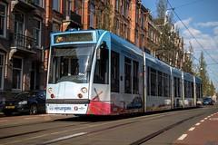 GVB Combino tram 2093, Lijn 2, Koninginneweg