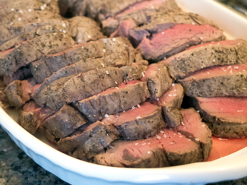 Perfect filet of beef