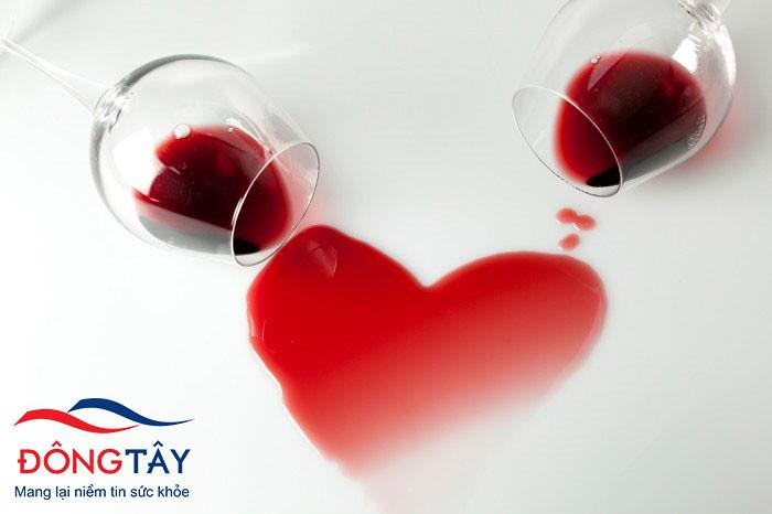 Uống rượu nhiều, suy yếu cơ tim