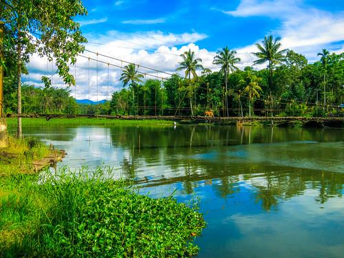 lake indonesia landscape bengkulu