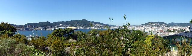 Nagasaki from the Glover Gardens