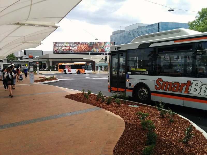 Chadstone bus interchange, opened August 2015