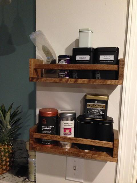 Tea Shelves