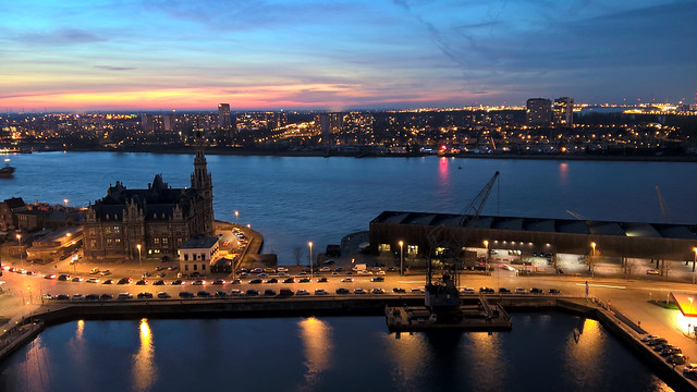 Sunset at Antwerpen