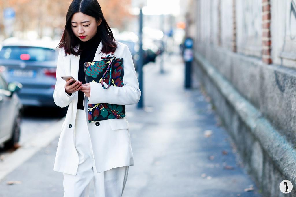 Street style at Milan Fashion Week Menswear