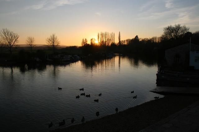 Sunset at Wareham Quay