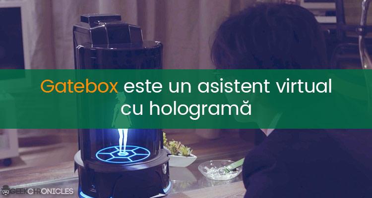 asistent virtual cu holograma