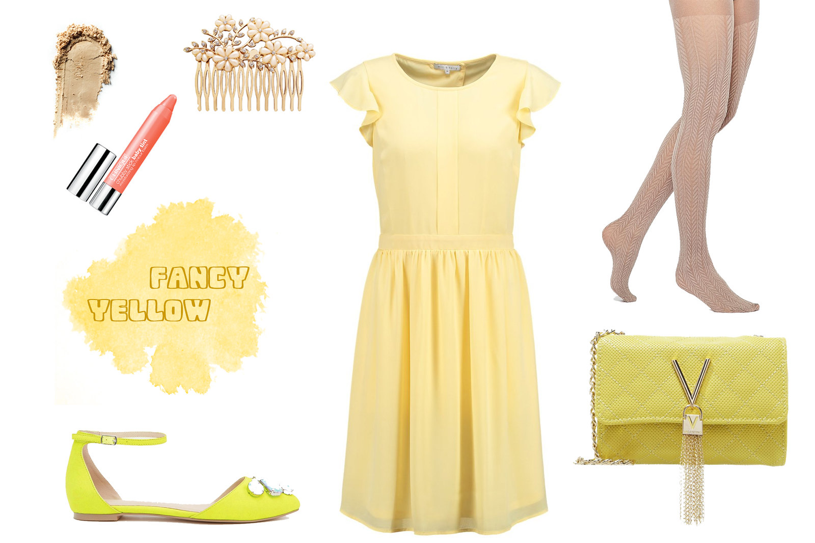 outfit inspiration: choose your color! (yellow)