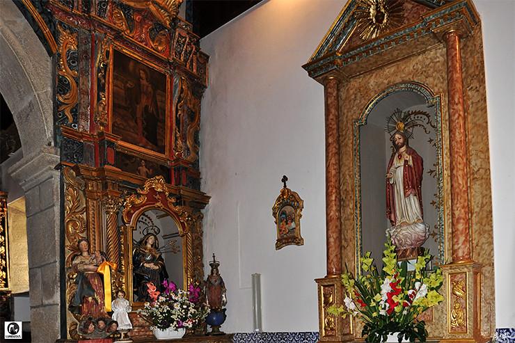 Altar Sra Dores Sagrado Coração - 740