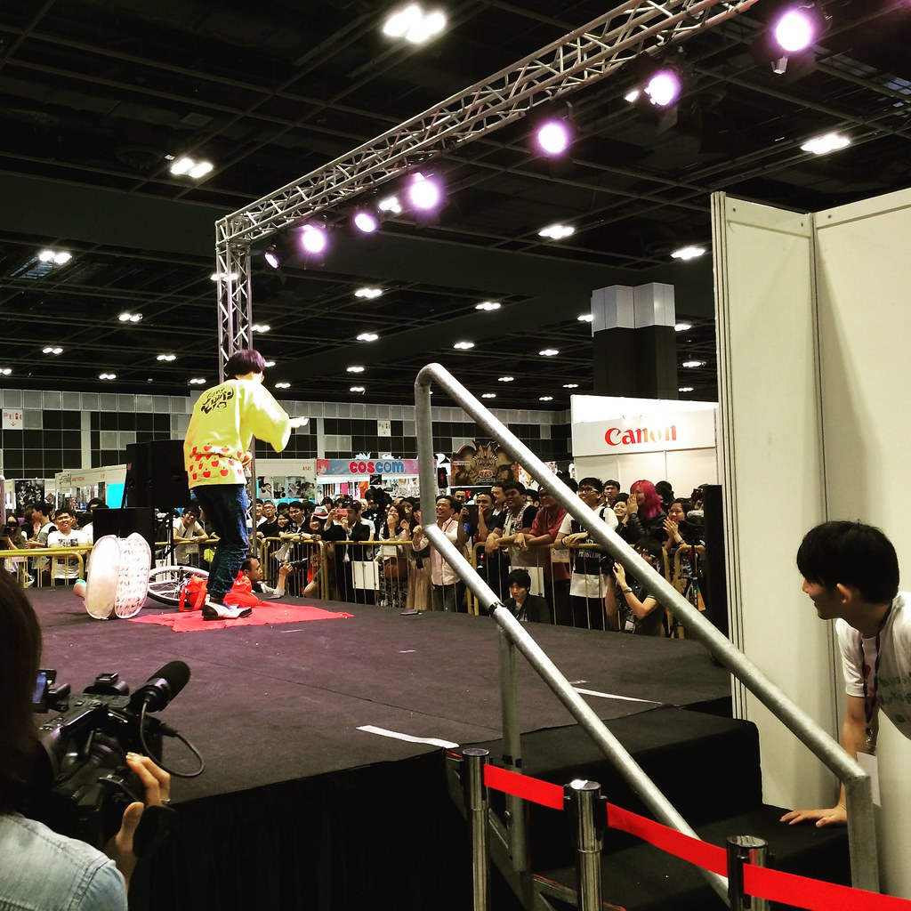 Anime Festival Asia 2015 Day 3 Event Report