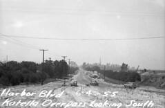 Harbor Blvd and Disneyland, June 4, 1955