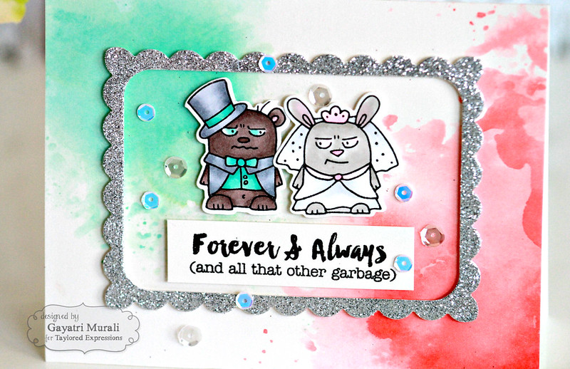 Forever & Always card closeup