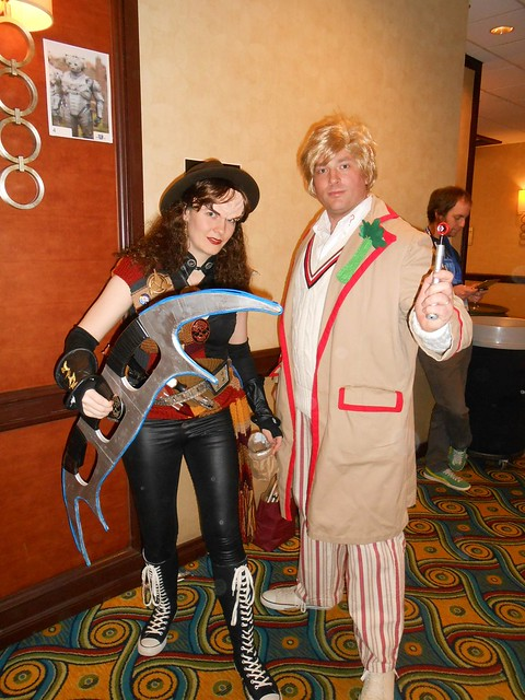Klingon Time Lord and Fifth Doctor