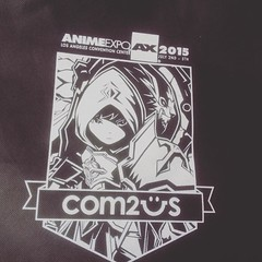 The front of the #animeexpo2015 bag handed out to attendees. #animeexpo