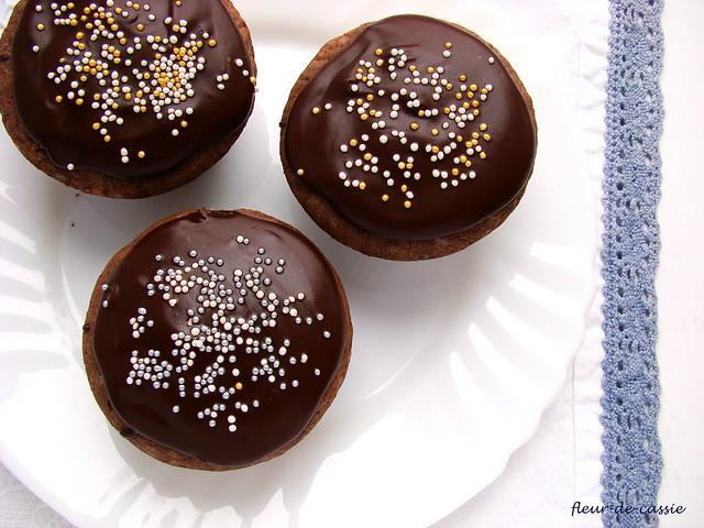 шоколадные капкейки 2