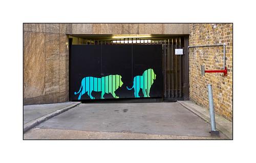Graffiti (?), East London, England.