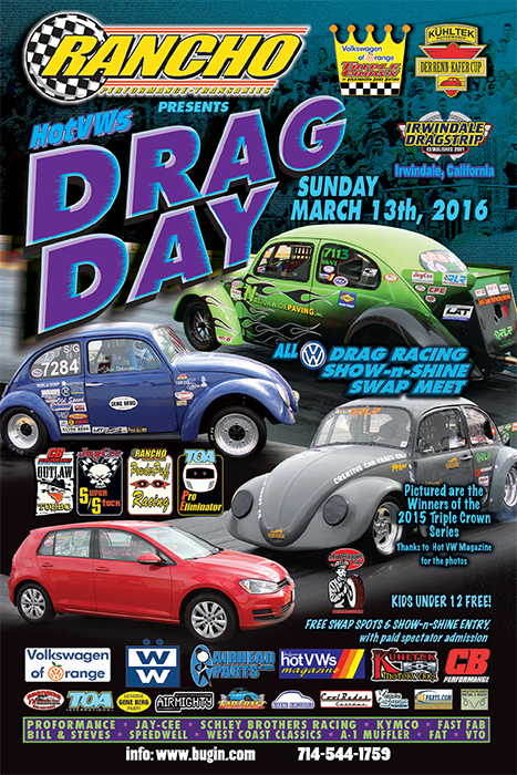Hot VWs Drag Day