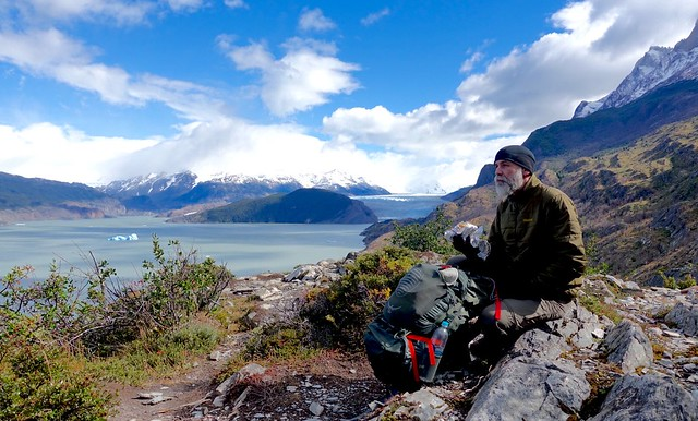 Break above Lago Grey