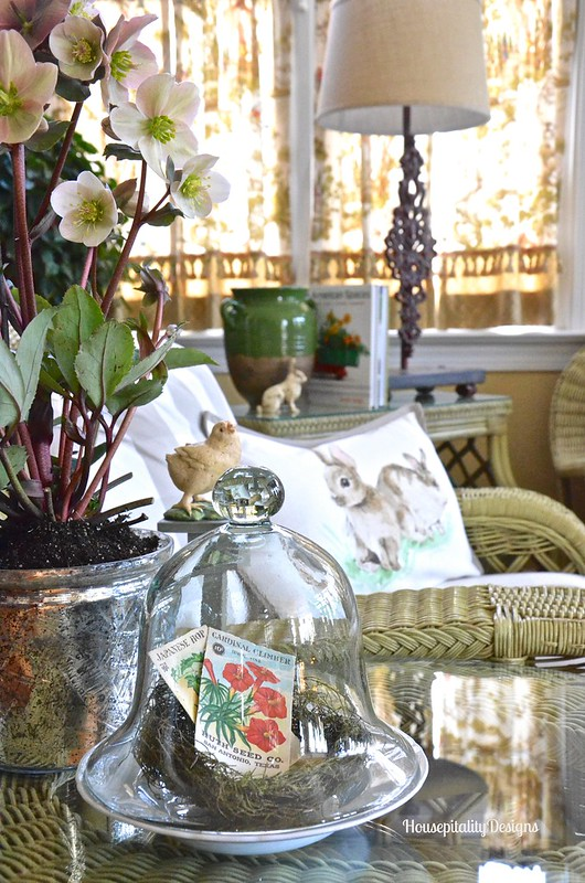 Spring Sunroom - Housepitality Designs