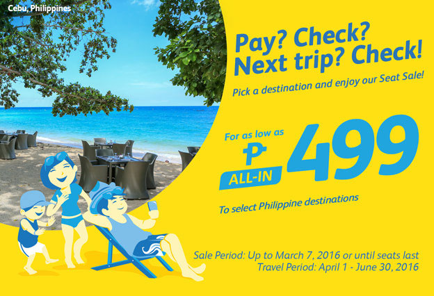 Cebu Pacific Promo March 4 2016