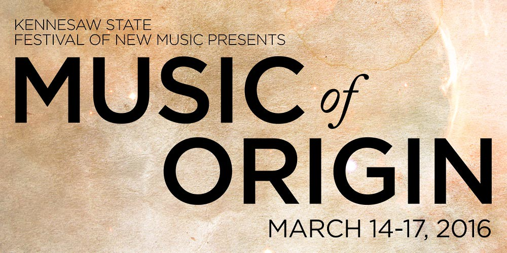 KSFNM Presents Music of Origins Festival at Kennesaw State