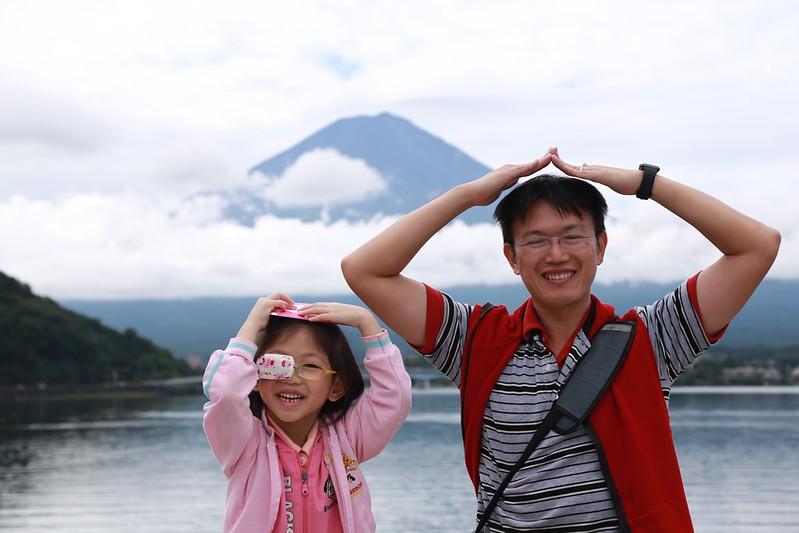 我和寶妹與富士山