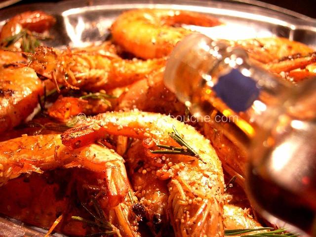 Crevettes Fleur de Sel & Huile de Sésame © Ana Luthi Tous droits réservés 05