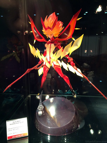 Ryuko Matoi figure on display at the Good Smile Company booth at Made in Asia 8