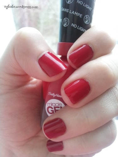 Sally Hansen Rhapsody Red