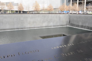 World Trade Center, il silenzio dell'acqua