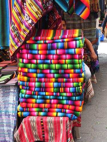 Chichicastenango: waouw les couleurs !