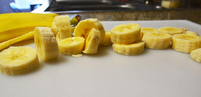 Fried bananas with Honey and Ice cream Recipe - Step3