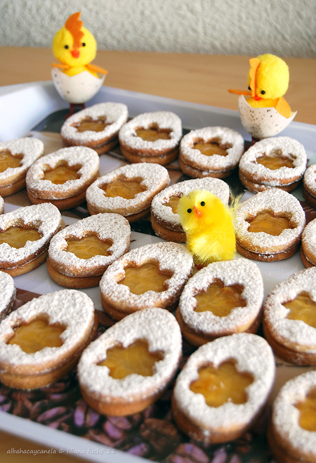 Marmalade easter cookies