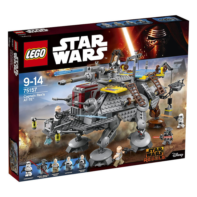 LEGO Star Wars 75157 - Captain Rex's AT-TE