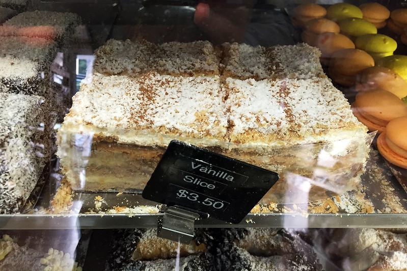 Vanilla slices, Hellenic Bakery