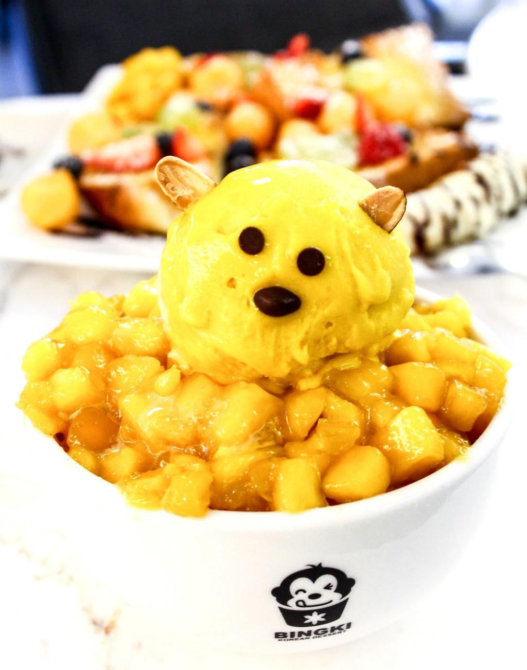 Bingki Cafe: Mango Bingsu