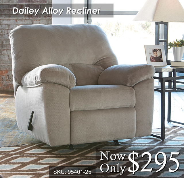 Dailey Alloy Recliner